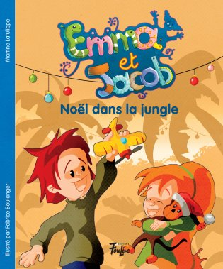 Emma et Jacob Noël dans la jungle